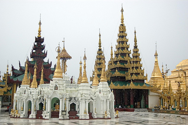 Shwedagon Pagoda grounds