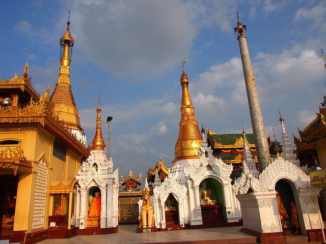 Grounds of Shwedagon Pagoda
